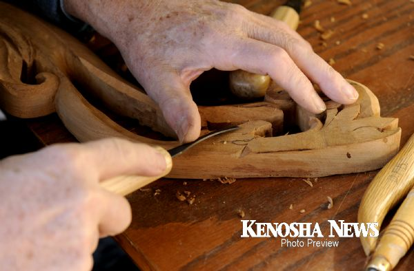 carving an antique reproduction